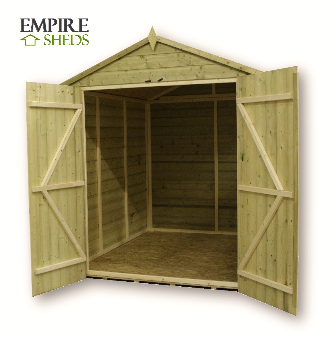 Loren 9x3 Storage Shed